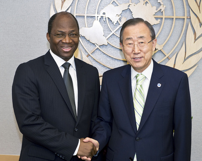 Secretary-General Meets Foreign Minister of Burkina Faso
