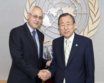 Secretary-General Meets UN Resident Coordinator for Indonesia