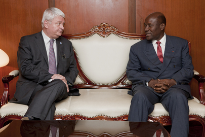 UN Peacekeeping Chief Meets Foreign Minister of Cte dIvoire