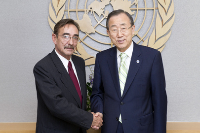 Secretary-General Meets Head of UNMOGIP