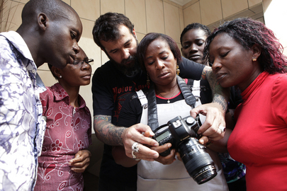UNOCI and Spanish Embassy Host Photography Workshop