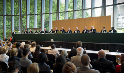 Swearing-in Ceremony for New ICJ Judge