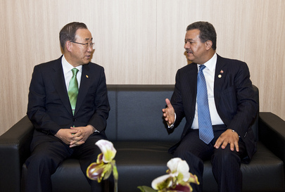 Secretary-General Meets President of Dominican Republic at Rio+20