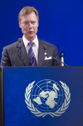Grand Duke of Luxembourg Speaks at Rio+20 Sustainable Development Conference