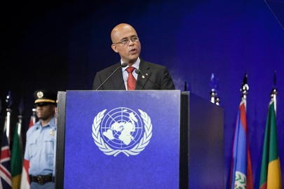 President of Haiti Speaks at Rio+20 Sustainable Development Conference