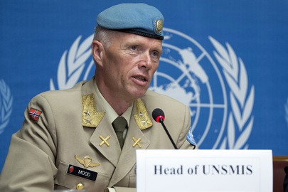 Special Syria Envoy and Head of Supervision Mission Brief Press in Geneva