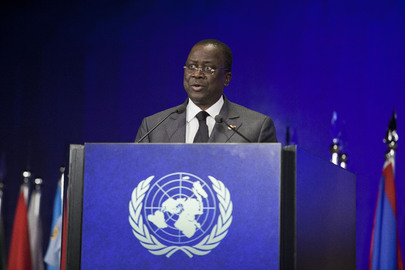 Prime Minister of Côte d'Ivoire Speaks at Rio+20 Sustainable Development Conference