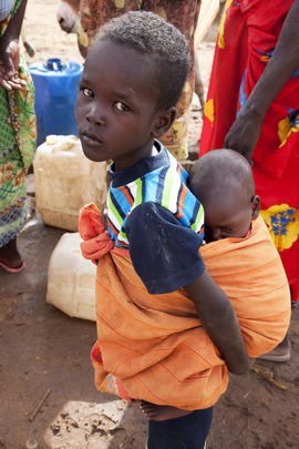 Displaced Children at Zam Zam Camp, North Darfur