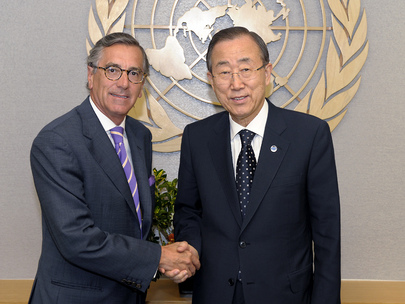 Secretary-General Meets Security Council President for July