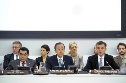 Opening of High-level Segment of 2012 ECOSOC Session
