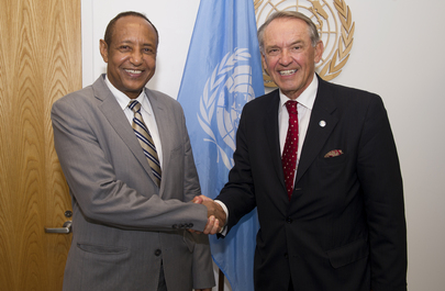 Deputy Secretary-General Meets UN Envoy for Sudan and South Sudan