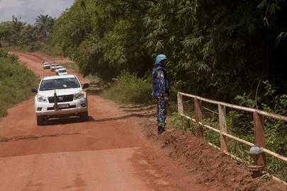 UNOCI Head Visits Western Côte d'Ivoire
