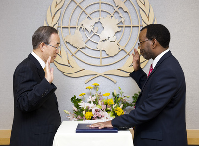Secretary-General Swears in New OIOS Assistant-Secretary-General