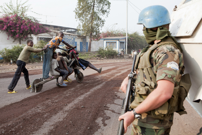 MONUSCO Troops Secure Streets of Goma