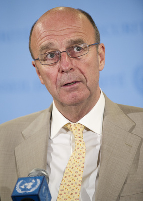 UN Special Coordinator for Lebanon Briefs Media