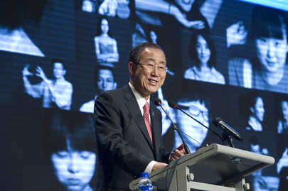 "Secretary-General Acknowledges Chinese Contribution to ""Future We Want"" Campaign"