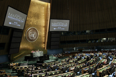 General Assembly Marks Nelson Mandela International Day