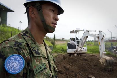 UNMISS Peacekeepers Include Japanese Engineers