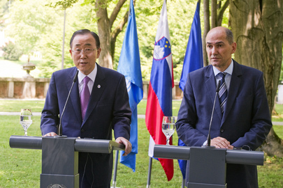 Secretary-General Visits Slovenia