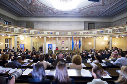 Secretary-General Visits Croatia