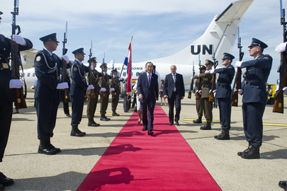 Secretary-General Visits Croatia