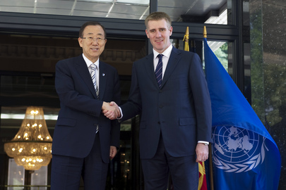 Secretary-General Visits Montenegro