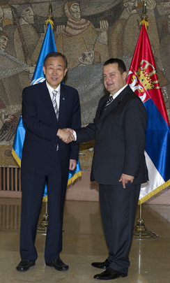 Secretary-General Meets Prime Minister-Designate of Serbia