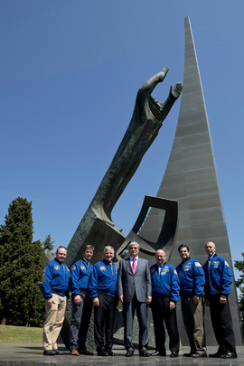 NASA Astronauts Visit UNOG