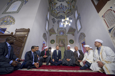Secretary-General Visits Religious Sites in Kosovo