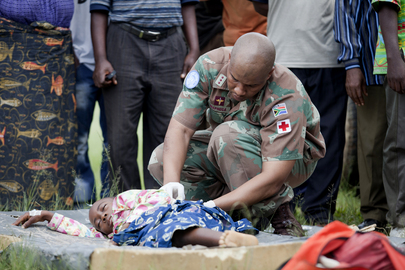 Congolese Civilians Wounded in North Kivu Fighting