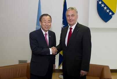 Secretary-General Meets Bosnian Foreign Minister