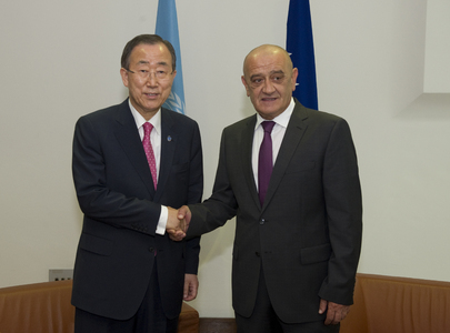 Secretary-General Meets Bosnian Prime Minister
