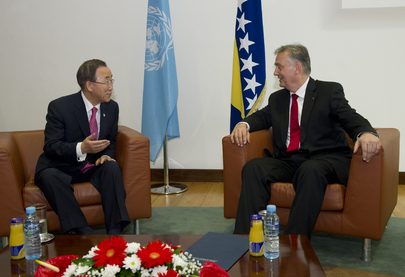 Secretary-General Meets Bosnian Foreign Minister