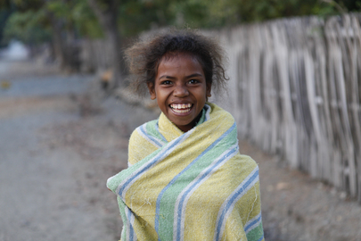 Portrait of Oecusse Girl, Timor-Leste