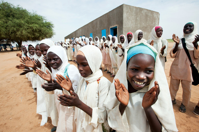 UNAMID Opens Clinic and Schools in North Darfur