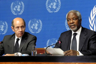 Joint Special Envoy on Syria Briefs Media