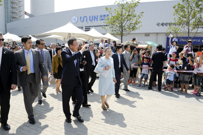 Secretary-General Visits Yeosu World Expo