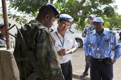UNOCI on Patrol in Abidjan in the Wake of Recent Attacks