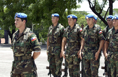 Opening Ceremony of United Nations Stabilization Mission in Haiti