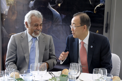 Working Lunch Hosted by Prime Minister of Timor-Leste