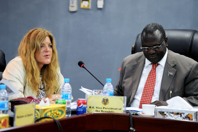 Head of UNMISS Briefs Council of Ministers