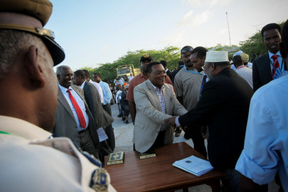 Inauguration of Somalia's First Parliament in Two Decades