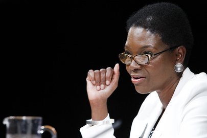 Coordenadora de Ajuda Humanitária, Valerie Amos (ONU/JC Mcllwaine)