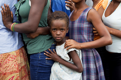Haitians Receive Government Food Aid in Aftermath Tropical Storm Isaac