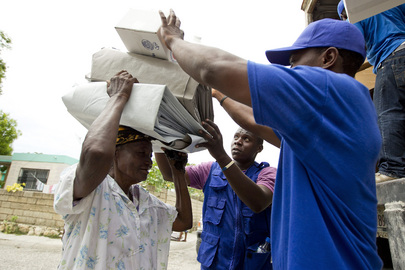 Haitians Receive IOM Aid in Aftermath of Tropical Storm Isaac