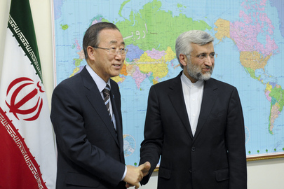 Secretary-General Meets Secretary of Iran's Supreme National Security Council