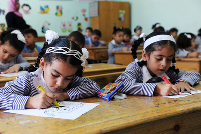 First Day of School in Gaza
