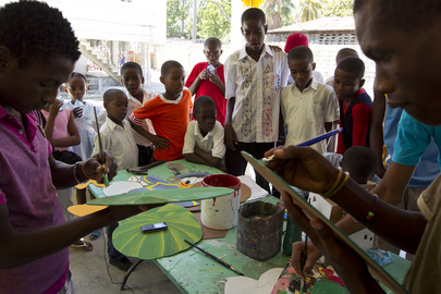 UN Mission and Volunteer Organization Highlight Youth Training Programmes in Haiti
