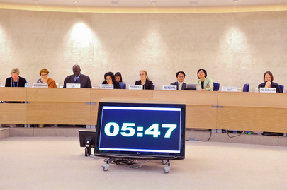 Special Representative for Children and Armed Conflict Addresses Human Rights Council