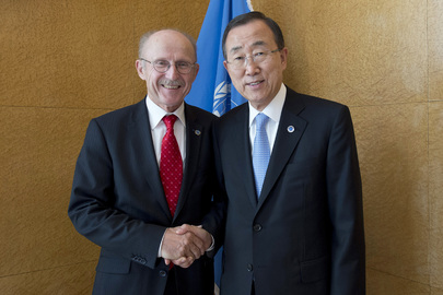 Secretary-General Meets Special Adviser on Sport for Development and Peace
